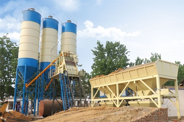 SkipType Concrete Batching Plant For Sale In Uzbekistan