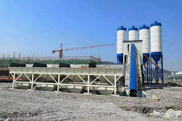 Stationary Concrete Batching Plant for Sale in Ghana, Ghana Batching Plant for Sale