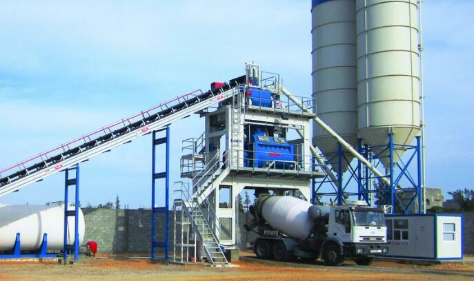 Stationary Concrete Batching Plant for sale Maldives