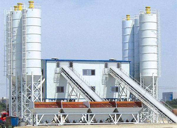 Stationary Concrete Batching Plant For Sale Peru
