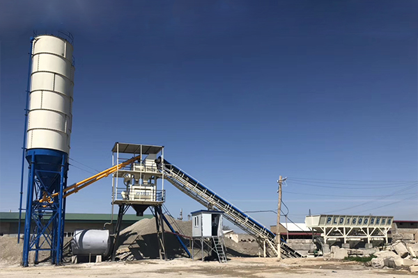 Temporary Concrete Batching Plant