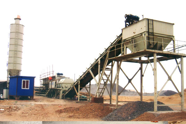 WBZ500 Stabilized Soil Mixing Plant