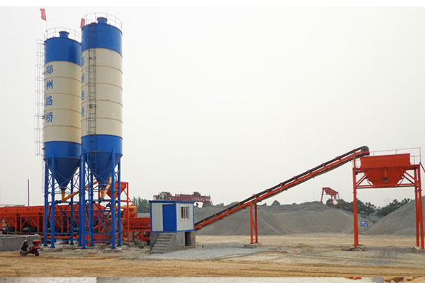 WBZ600 Soil Cement Mixing Plant